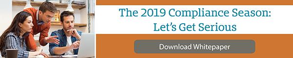 Whitepaper: The 2019 Compliance Season